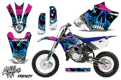 AU178.32 • Buy Yamaha YZ 85 Dirt Bike Graphic Sticker Kit Decal Wrap MX Parts 2015-2017 FRENZY
