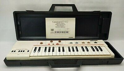 $129.99 • Buy CASIO MT-40 Casiotone Portable Keyboard Synthesizer Piano TESTED No Power Supply