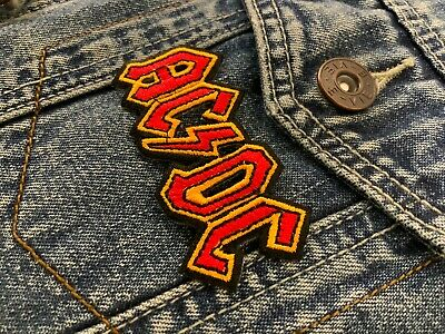 £3.29 • Buy Acdc Fabric Patch Music Band Rock Biker Scooter #0054