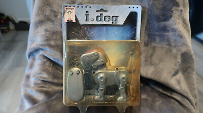 VINTAGE I.DOG REMOTE CONTROL BATTERY POWERED ROBOT DOG By WANTED LTD BNIB NEW • 12.99£