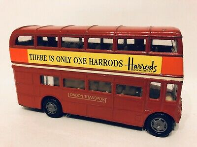 "$ CDN12 • Buy London Transport Diecast ""There Is Only One Harrods"" Double Decker Bus"