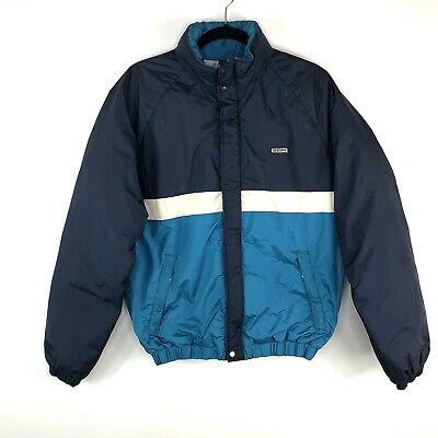 $60 • Buy Vintage Descente Blue Ski Jacket Coat Snow Winter Mens Sz M