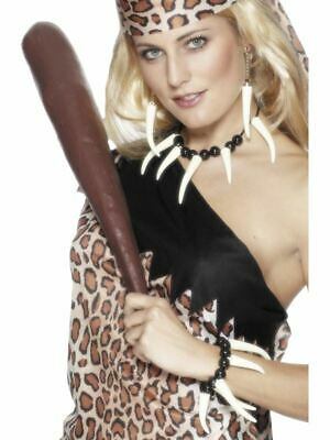 £6.91 • Buy Ladies Cavewoman Voodoo Set Adults Cave Girl Fancy Dress Accessory Womens Outfit
