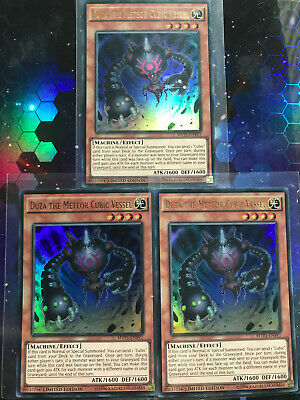 YUGIOH! DUZA THE METEOR CUBIC VESSEL (MVP1-ENSV1), Ultra, Limited Ed, PLAYSET! • 4.99£