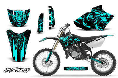 AU178.32 • Buy Yamaha YZ 85 Dirt Bike Graphic Sticker Kit Decal Wrap MX 2002-2014 NIGHTWOLF MNT