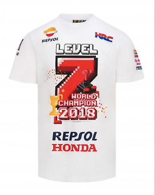 $39.99 • Buy Marc Marquez MM93 T-shirt Official Level 7 World Champion MotoGp Located In USA