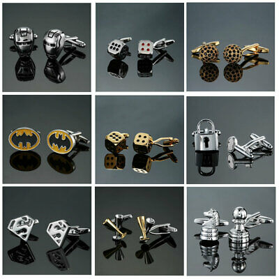 Mens Cufflinks-Novelty-Occasion Cufflinks FREE GIFT POUCH & FREE -1st Class Post • 3.50£