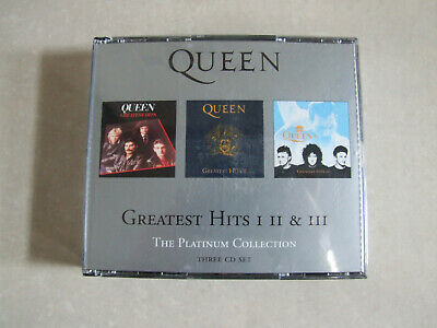 QUEEN -The Platinum Collection (Greatest Hits 1, 2 & 3) 3xCD Album *Best Of* • 11.99£