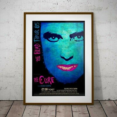 £11.99 • Buy The Cure 85 Concert Poster Framed Or Three Print Options Robert Smith EXCLUSIVE