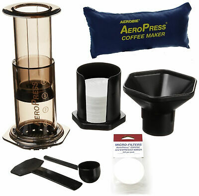 £29.99 • Buy Aeropress Coffee Maker & Replacement Accessories Filters Stirrer Cup Tote Bag