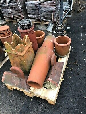 £1 • Buy Assorted Reclaimed Clay Chimney Pots And Liners. Mixed Prices ££