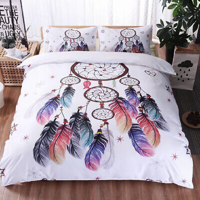 AU36.39 • Buy All Size Ultra Soft Doona Quilt Duvet Doona Cover Set Dream Catcher