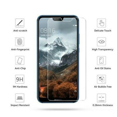 Tempered Glass Screen Protector For Huawei PSmart P20 Pro Lite P30 Honor 9 Lite • 2.29£