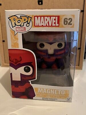 Funko Pop Marvel 62 Magneto • 15£
