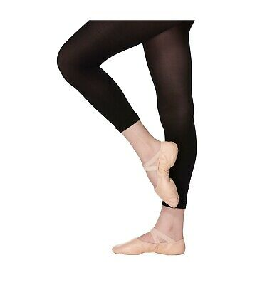 £4.75 • Buy Footless Dance Tights-Soft Ballet Tight 40 Denier Girls 3-13-Ladies Small-Large