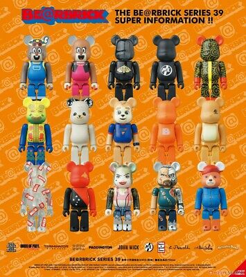 $19.99 • Buy Bearbrick Be@rbrick Series 39 100% By Medicom - You Pick! Fast US Shipping.