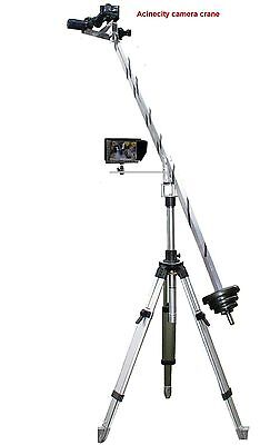 Camera Crane Jib Arm 2 Meter Long STRONG For DSLR Camera & Camcorders 4K,8k Etc • 129£
