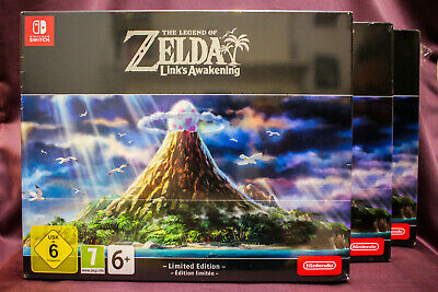 $129.95 • Buy Legend Of Zelda Link's Awakening LIMITED EDITION - FREE SHIPPING Switch **READ**