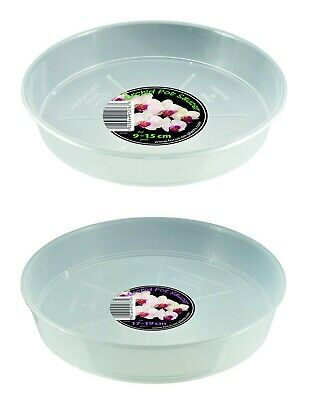 £4.15 • Buy Growth Technology Clear Orchid Saucers For Round Pots