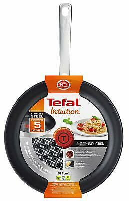 Tefal Intuition Stainless Steel Induction Frying Pan / Non Stick 28cm Fry Pan • 29.95£