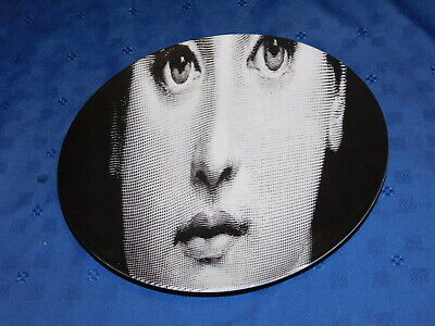 $174.99 • Buy Fornasetti Variazioni #52 Tema E Close Up Of Woman's Face For Barney's New York