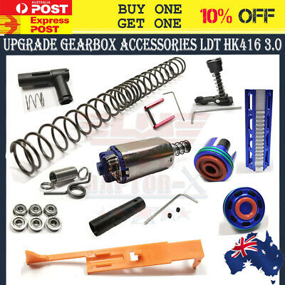 AU44.59 • Buy SHS 480 Motor Gel Blaster Upgrade Gearbox Springs Pull Tappet PISTON LDT HK416