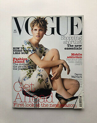 £24.99 • Buy Vogue Fashion Style Beauty August 2003 Stella Tennant By Corinne Day Y2K