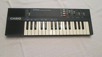 $32.99 • Buy Keyboard 32 Key CASIO PT-100 Electronic Synthesizer Cordless Vintage Working
