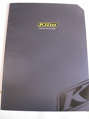 $ CDN6.04 • Buy Klim 2014 Motorcycle Gear Product Catalog NEW / 115 Pages Jackets, Pants, Gloves