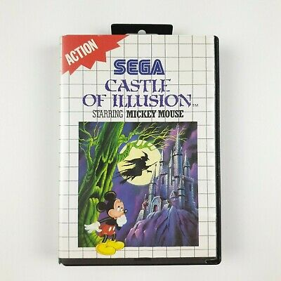 AU37.97 • Buy Castle Of Illusion Starring Mickey Mouse | Sega Master System SMS PAL | Complete