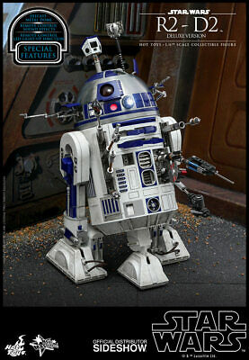 $ CDN337.21 • Buy Hot Toys Star Wars R2-D2 Deluxe Version Diecast Action Figure 1/6 Scale MMS511