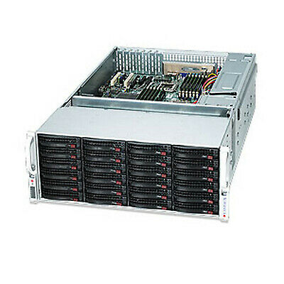 Supermicro  Rackmount 4U W/ 1280W Extended AT  SuperChassis 847E16-R1K28LPB Case • 2,835£