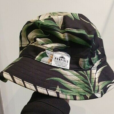 Penfield Palm Leaf Bucket Hat Size S/M • 22£