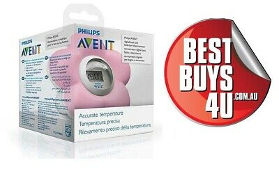 AU36.20 • Buy Avent Philips Room And Bath Thermometer Pink