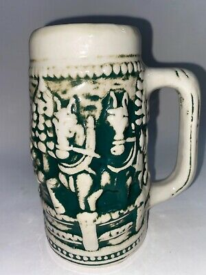 $ CDN26.12 • Buy Beer Stein Vintage 1980's CLYDESDALES, MOLDED, MADE IN BRAZIL SKV # 431379 Cera