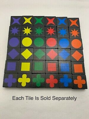 $ CDN1.25 • Buy  QWIRKLE Replacement Tiles - Each Sold Separately
