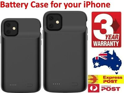 AU36.65 • Buy For IPhone 11 Pro MAX / X Battery Case Charger Portable Charging Cover NEW AU