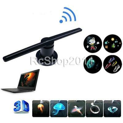 AU81.24 • Buy 3D Visual Hologram LED Fan Holographic Projector Display Player Advertising