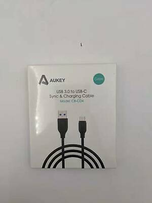 AU10.16 • Buy AUKEY USB 3.0 To USB C Sync & Charging Cable (3.3ft/1m) - Black