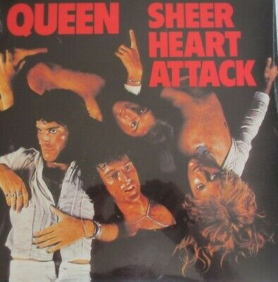 Queen Sheer Heart Attack Vinyl LP New / Sealed • 25.99£