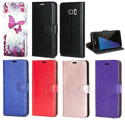 £4.99 • Buy For S20 S7 S6 S7edge S8 S9 Phone Case Leather Flip Shockproof Wallet Book Cover