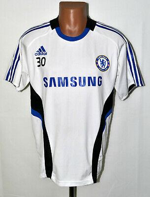 Chelsea London 2008/2009 Player Issue Training Football Shirt Jersey Adidas #30 • 24.99£