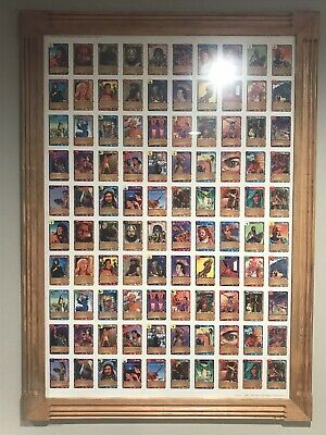 $260 • Buy Redemption CCG Card Game Framed Uncut Sheet- Limited Collectible!
