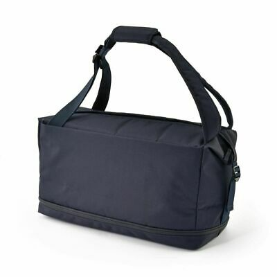 $119 • Buy MUJI Water Repellent Boston Backpack NAVY Travel Trip Large From JAPAN 2way F/S