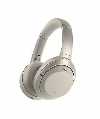 Sony WH1000XM3S Wireless Noise Cancelling Bluetooth On Ear Headphones - Silver • 259£