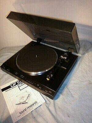 AU149 • Buy Sound Research Lpiv Turntable Vgc - Record Player
