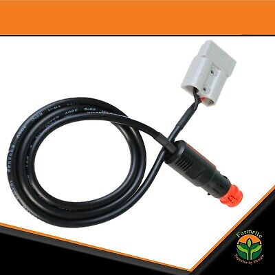 AU17.95 • Buy Anderson Plug To Male Cigarette Socket Anderson Extension Lead