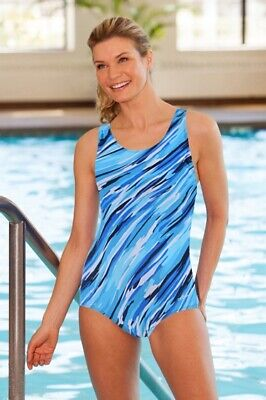 $26.59 • Buy Dolfin Cascade Power Back Chlorine Resistant One Piece Swimsuit