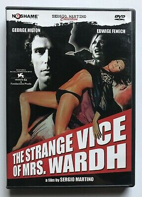 The Strange Vice Of Mrs. Wardh DVD No Shame Sergio Martino Giallo Region 1 RARE • 21.50£