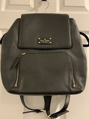 $ CDN185 • Buy New Kate Spade Perri Remington Place Leather Black Backpack